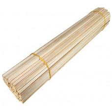 Палочки деревянные для сахарной ваты, для пищевой продукции, длина 500мм., сечение квадрат 5х5мм.