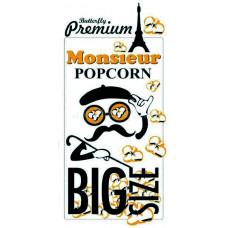 """Зерно кукурузы суперпремиальное """"Monsieur Popcorn"""", сорт бабочка, 22,68 кг"""