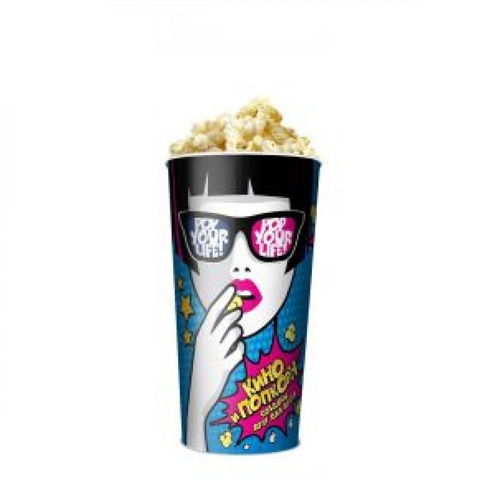 Стакан бумажный для попкорна V 24 «Поп-Арт»