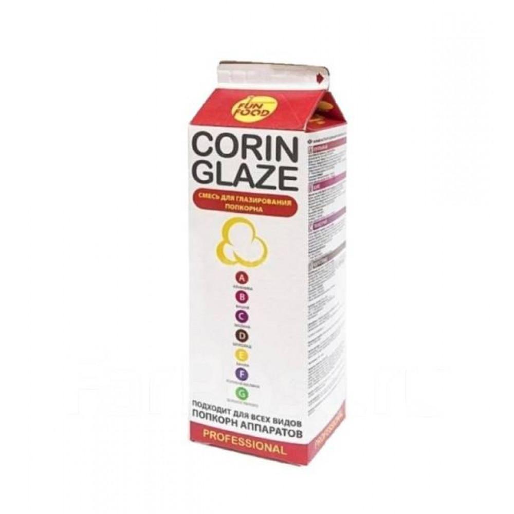 Вкусовая добавка виноград - для сладкого поп-корна, «Corin Glaze», 0.8кг