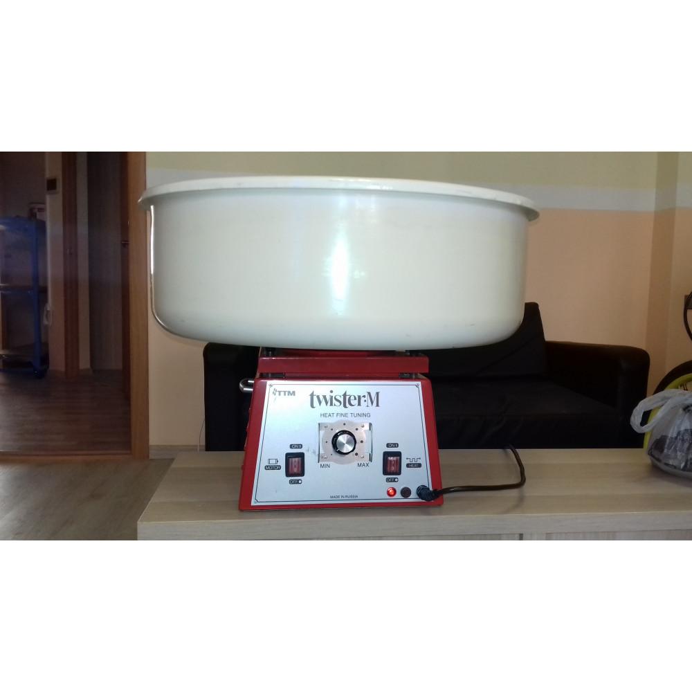 Аппарат для сладкой ваты ТТМ Твистер-М (использовался на выставке)