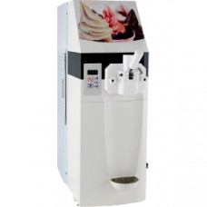 Фризер для мягкого мороженого настольный, 1 узел раздаточный, 12кг/ч, взбитость до 40%, белый