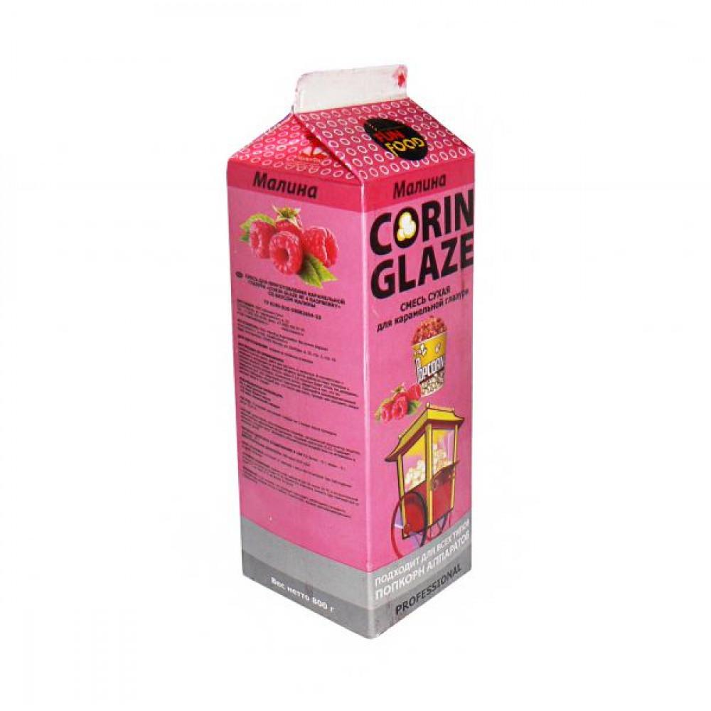 Вкусовая добавка малина - для сладкого поп-корна, «Corin Glaze», 0.8кг
