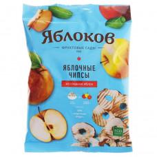 Чипсы яблочные из сладких яблок «Яблоков», коробка (30 пакетов по 25г.)