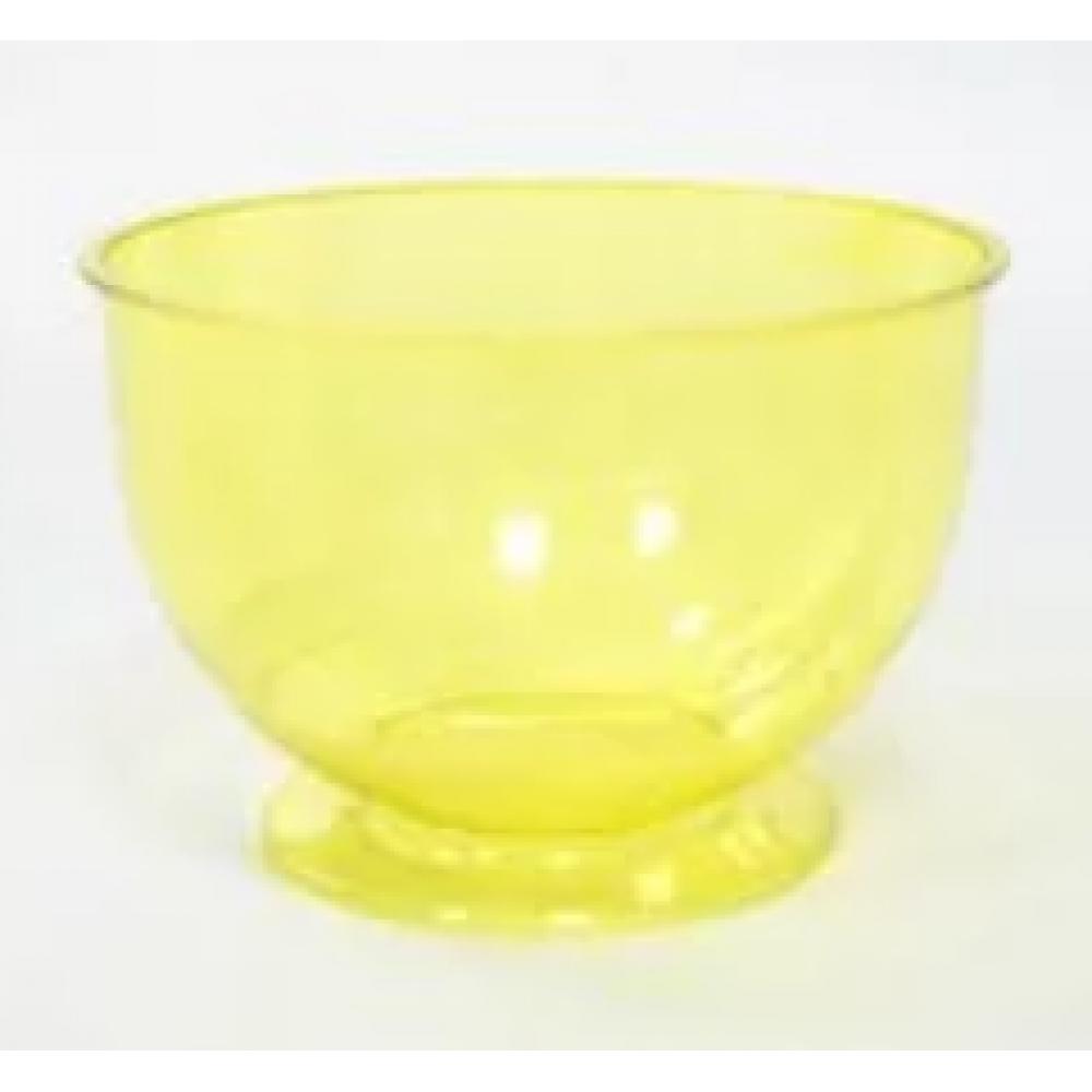 Креманка КРИСТАЛЛ 200мл пластик желтый