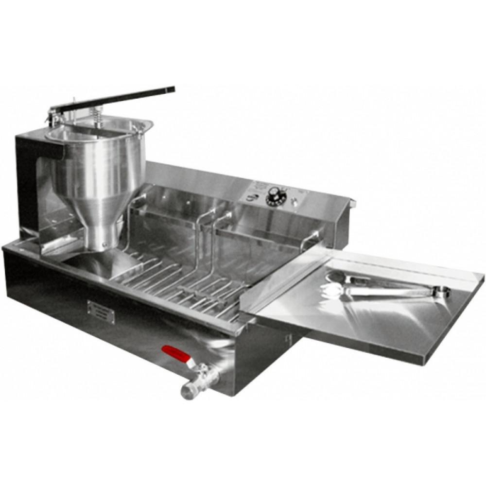 Аппарат пончиковый полуавтоматический, 300шт/ч, ванна 12л