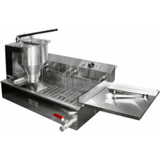 ПР-7 полуавтоматический пончиковый аппарат, 300шт/ч, ванна 12л
