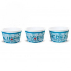 Креманка для мороженого 140мл вспененный полистирол ICE CREAM