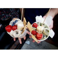 Ролл мороженое и эскимогенераторы