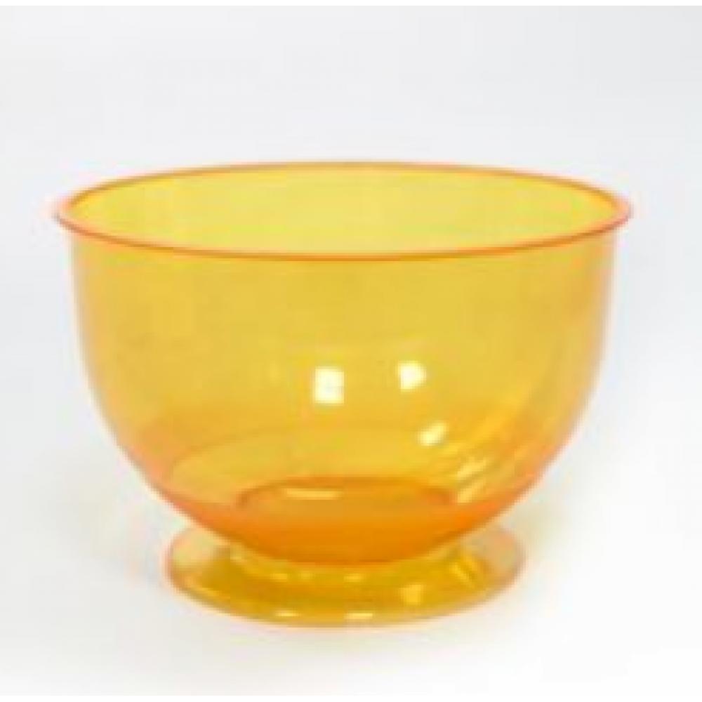 Креманка КРИСТАЛЛ 200мл пластик оранжевый