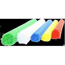 Палочки пластиковые, длина  370 мм, для сладкой ваты