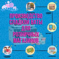 Курс по производству сладкой ваты для розничных магазинов
